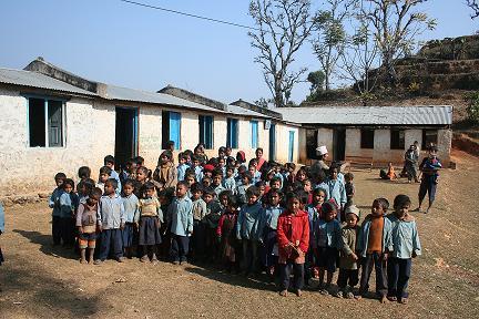 Foto 5 Nuwakot school 2007