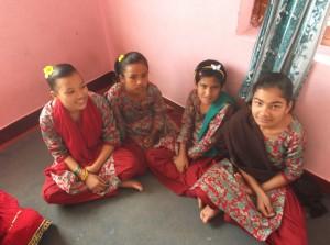 Dashain nieuwe kleren