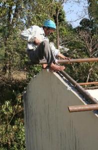 Foto renovatie dak lassen buizen 1