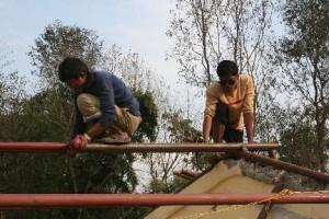 Foto renovatie dak schilderen