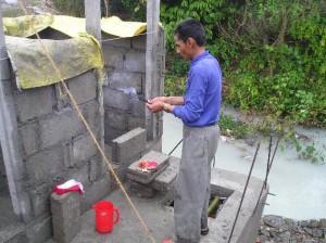 Foto renovatie offering toilet