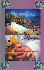 Voorpagina gedichtenboek Ram